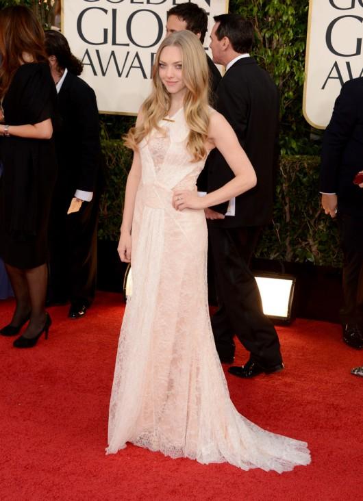 Golden Globes 2013 Amana Seyfried