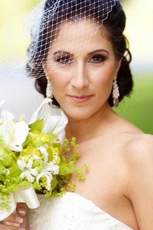 Sabrina wedding makeup