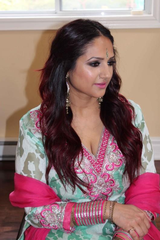 Green and pink 2 Deepa Berar