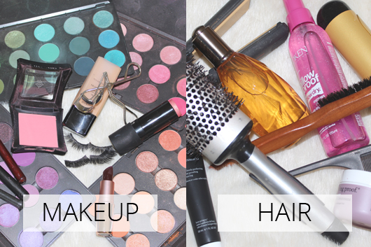Website makeover makeup and hair