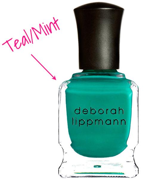 summer nail 2014 dark mint copy
