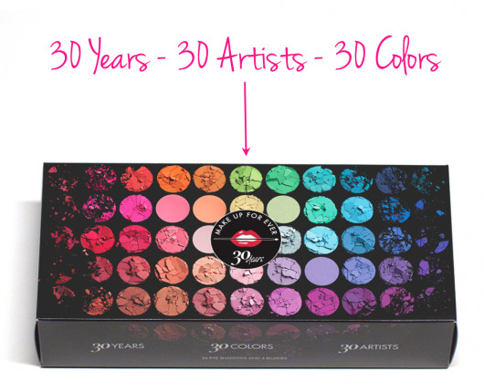 makeup forever 30 years 30 artists
