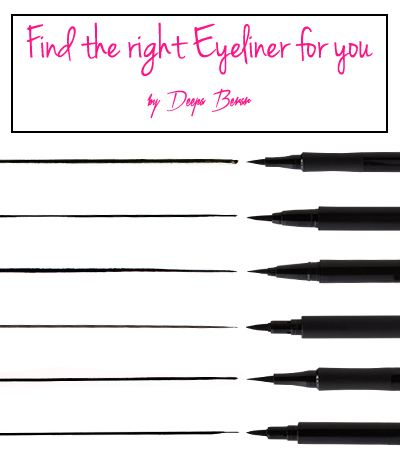 find the right eyeliner for you