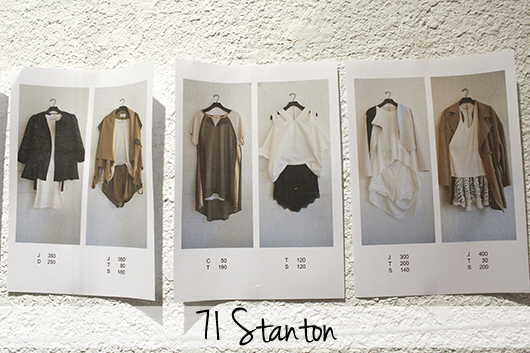 71 Stanton fall 2014 fashion
