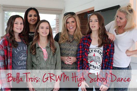 Bella Trois GRWM High school dance