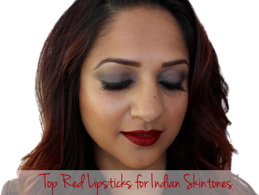 deepa berar red lipstick mac cosmetics