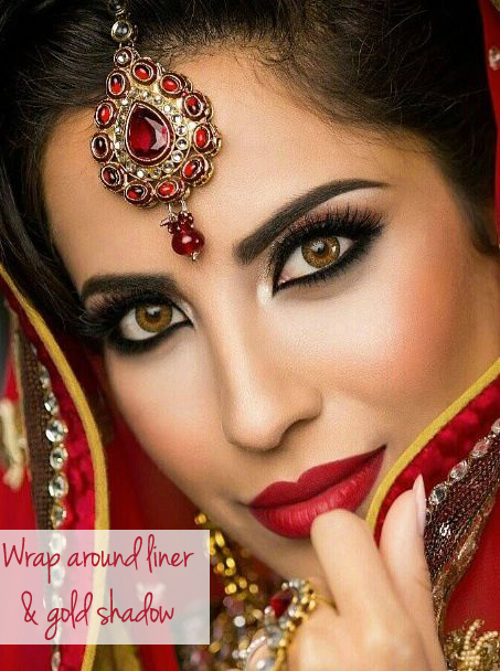 indian christmas makeup ideas