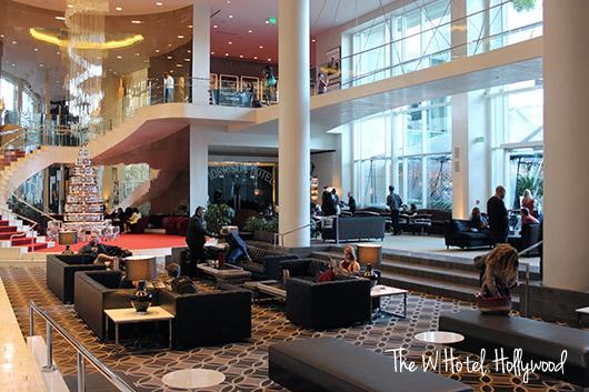 the w hollywood lobby