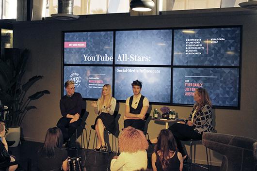 VFSC Youtube Allstars panel