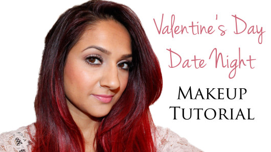 Valentines date night makeup tutorial 2015