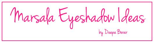 Marsala eyeshadow ideas