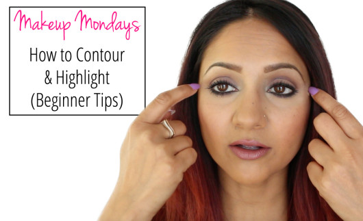 Makeup Mondays How to contour and highlight beginner tips