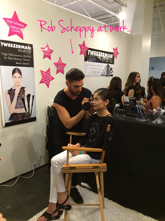 Rob Scheppy BeautyCon Tweezerman
