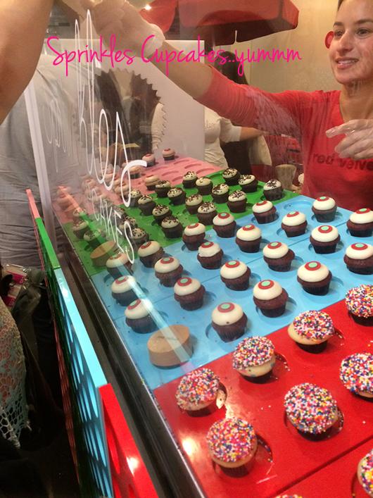 Sprinkles cupcakes BeautyCon