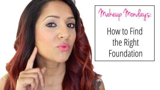 Makeup Mondays How to find the right foundation