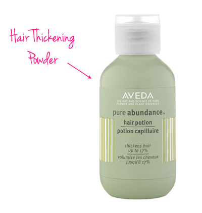 aveda hair potion
