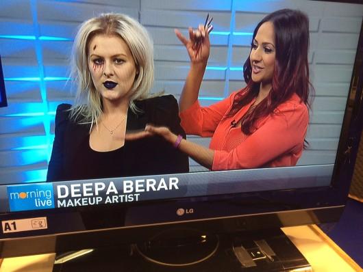 Deepa Berar CHCH Makeup segment
