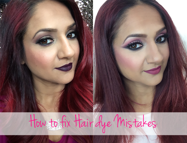 How to fix hair dye mistakes