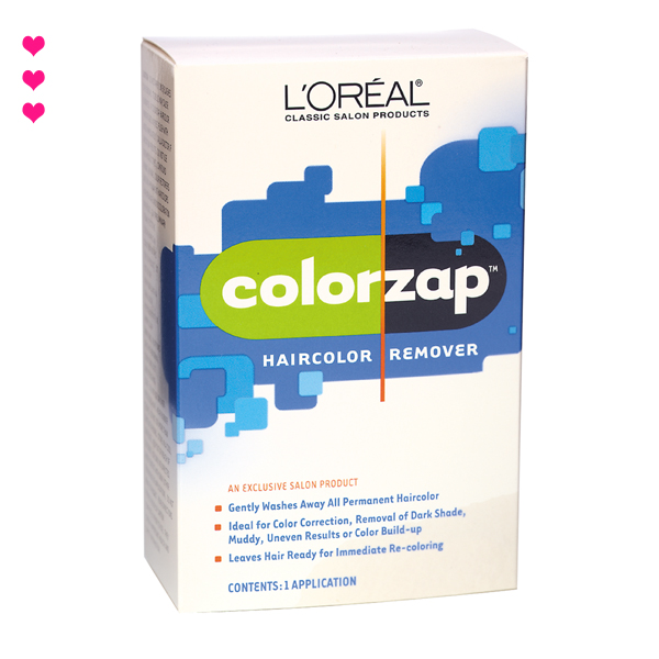 loreal color zap