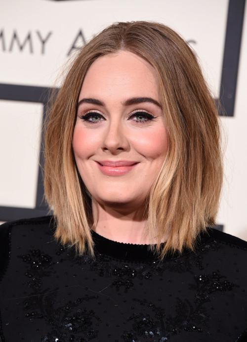 Grammys 2016 Adele hair