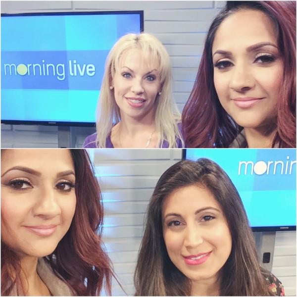 Deepa Berar CHCH Morning Live all about bronzers