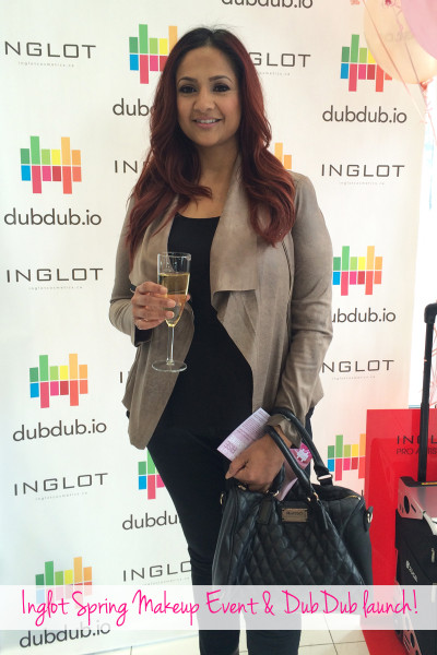 Deepa Berar at the Inglot and DubDub event