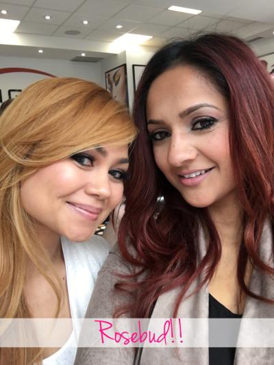 Deepa Berar and Rosebud