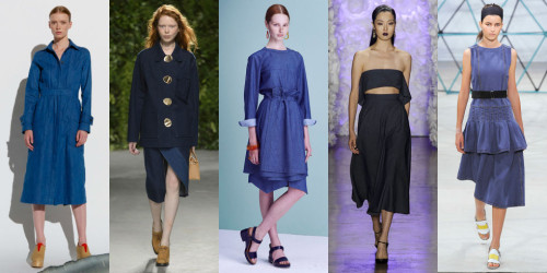 Spring 2016 fashion trends denim