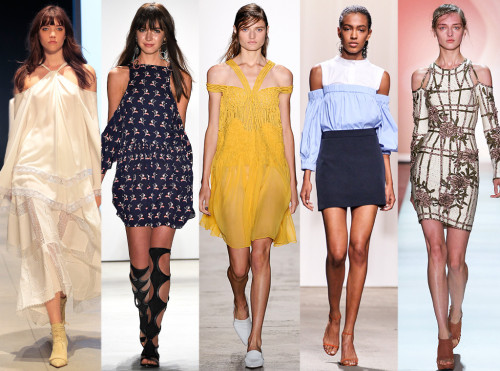 Spring 2016 fashion trends off the shoulder