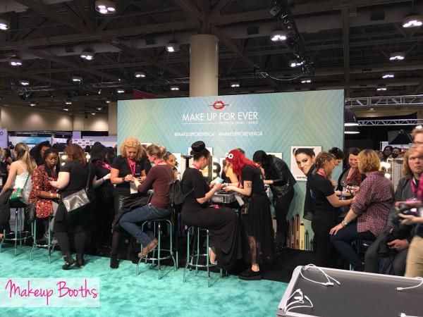 Genbeauty Toronto makeup booths