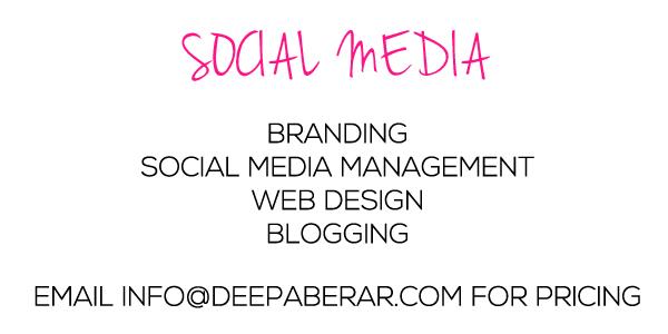 Deepa Berar Social Media Services