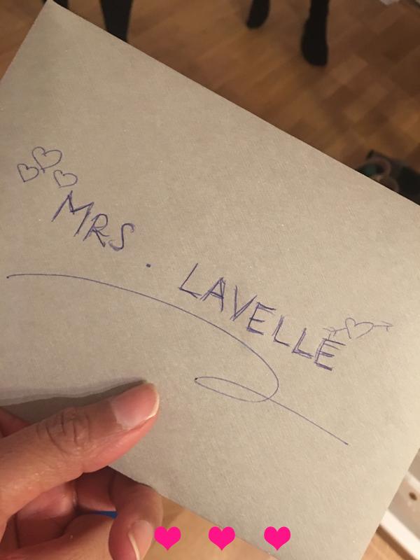 Mrs LaVelle