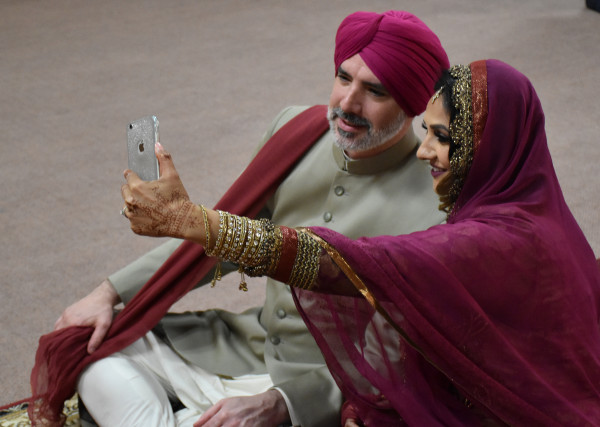 Deepa Berar Wedding Deepa and Derek