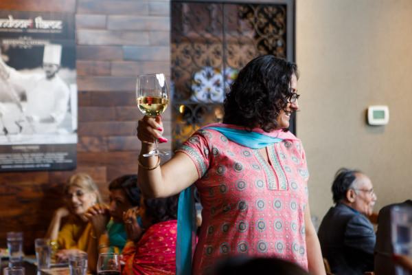 Deepa Berar Wedding Juhi Atwal Toast