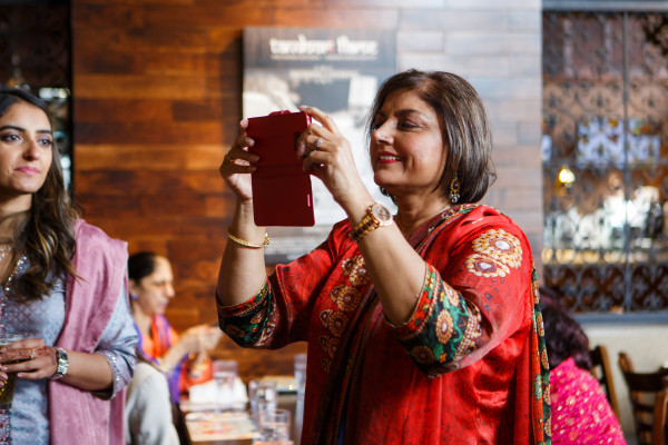 Deepa Berar Wedding Pimmi Chachi