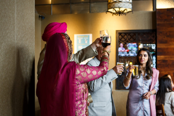Deepa Berar Wedding Toast
