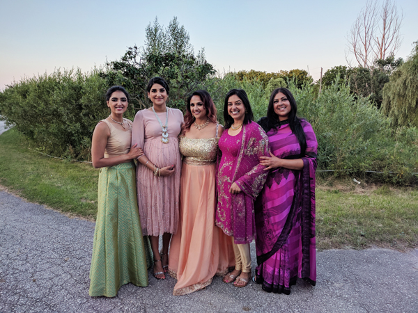 Deepa and Derek Reception Part 2 Berar Girls