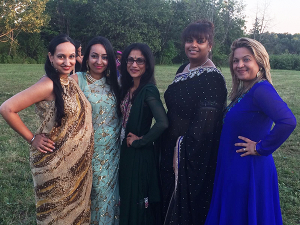 Deepa and Derek Reception Part 2 Dhillon Girls
