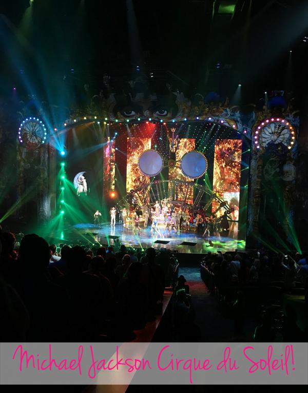 Vegas 2017 Michael Jackson Cirque du Soleil