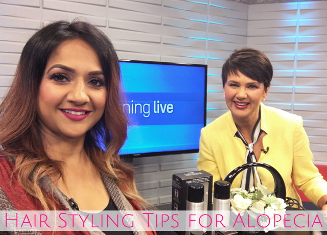 Hair styling tips for Alopecia on CHCH Morning Live