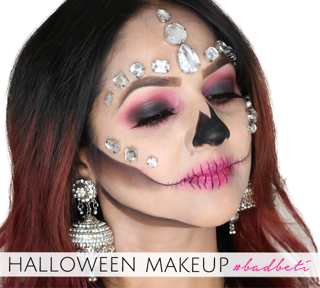 Halloween Bad Beti Makeup Tutorial
