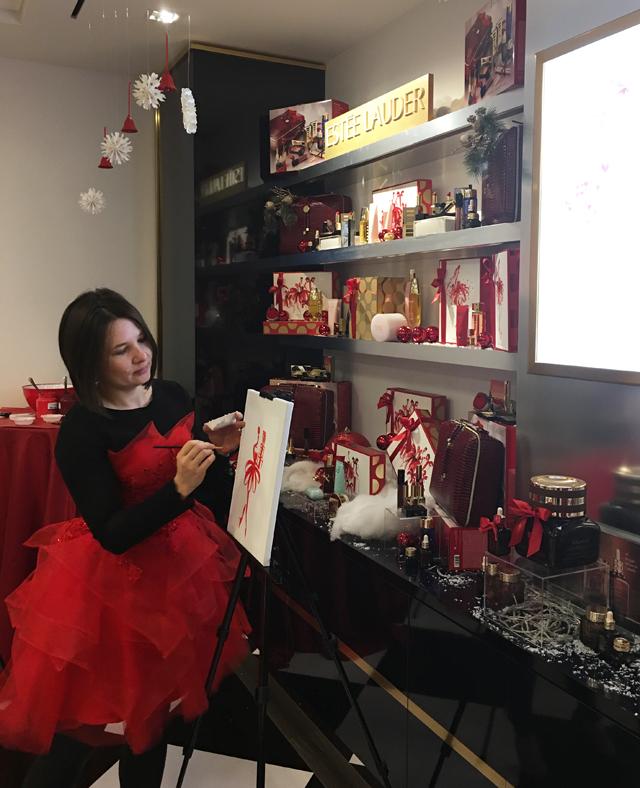 Deepa Berar November 2017 Estee Lauder All that Glitters Event