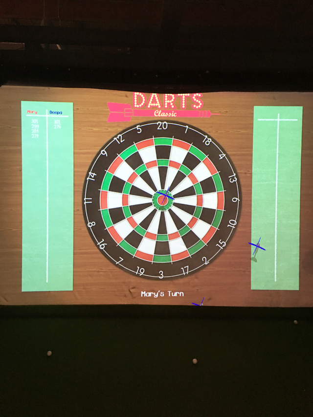 Deepa Berar November 2017 Faraway Greens Golf Darts