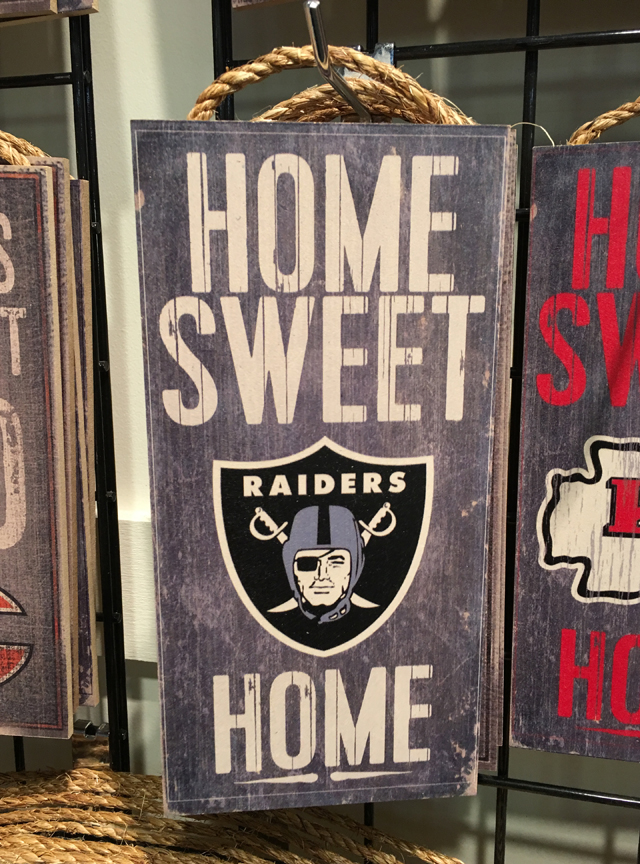Deepa Berar November 2017 Raiders Home Decor