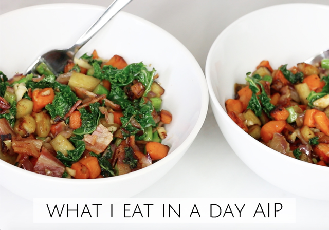 What I eat in a day AIP Diet