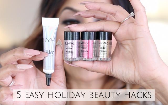5 Easy Holiday Beauty Hacks