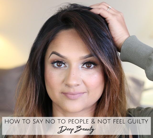 How to say no to people and not feel guilty