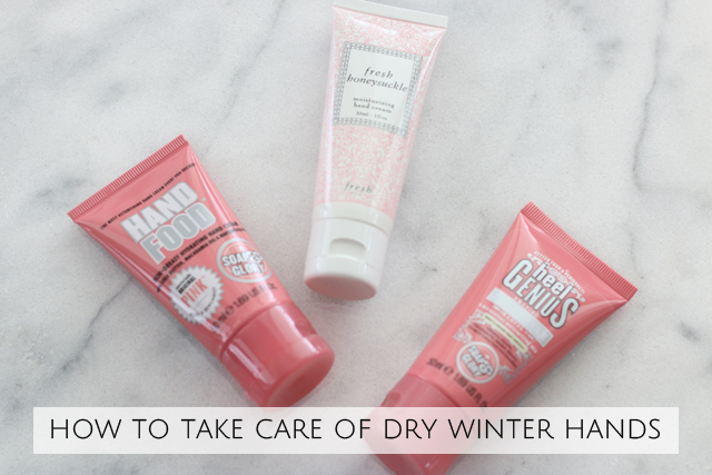 How to take care of dry winter hands