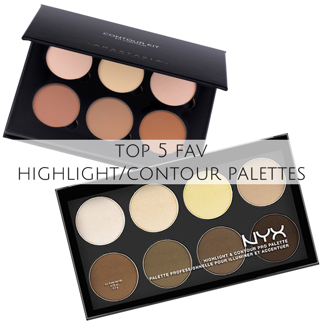 Top 5 Fav Highlight Contour Palettes Deepa Berar