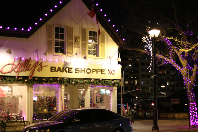 Week 2 Recap Burlington Tree Lighting Kelly's Bake Shoppe
